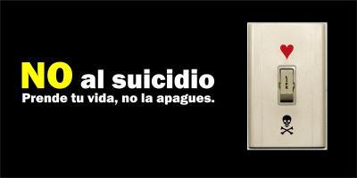 """¿Para cuándo la lucha """"en serio"""" contra el suicidio?"""