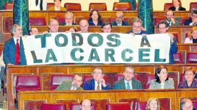 Políticos, banqueros y jueces… ¡a la cárcel!