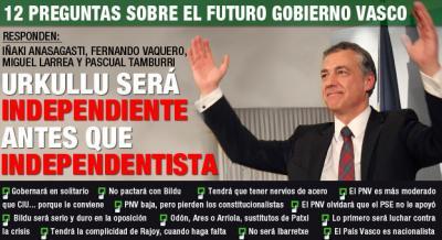 12 preguntas para el futuro del Gobierno de Euskadi