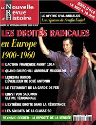 Las derechas radicales europeas (1900-1960) en la Nouvelle Revue d´Histoire
