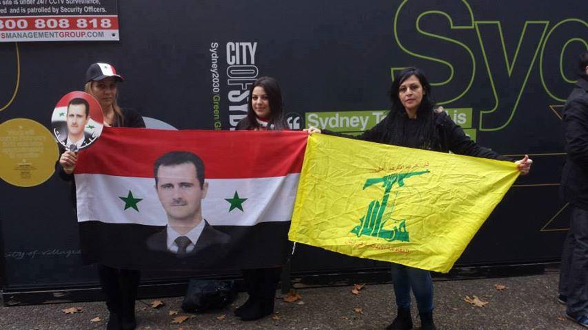 Polémica en HispaniaInfo ante cierta presencia española en una manifestación en Roma, 15 de junio de 2013, en apoyo al pueblo sirio: el Baas, la gran Siria, la independencia del Líbano, el PSSN, el Kataeb…